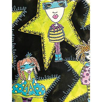 """Dyan Reaveley's Dylusions Cling Stamp Collections 8.5""""X7"""" - Mini Me"""