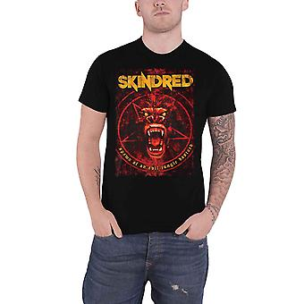 Skindred T Shirt Spawn Band Logo  new Official Mens Black