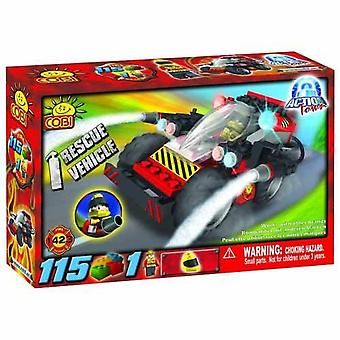 Action Town 115 Piece Rescue Vehicle Construction Set