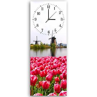Decorative Clock With Picture, The Dutch Landscape