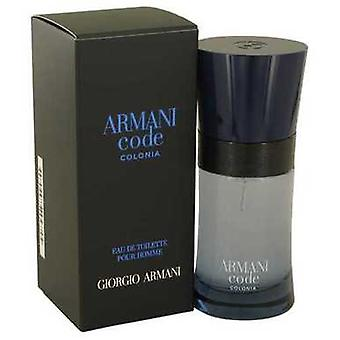 Armani Code Colonia By Giorgio Armani Eau De Toilette Spray 1.7 Oz (men) V728-539363
