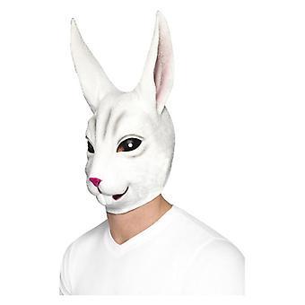 Vuxna Overhead Latex kanin Mask maskeraddräkter tillbehör