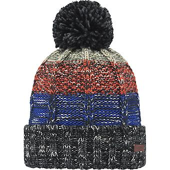 Barts Vista Bobble Hat in Charcoal