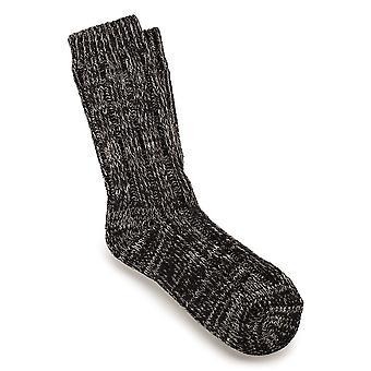 Birkenstock Womens Cotton Twist Socks 1002444 Brown