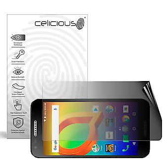 Celicious Privacy 2-Way Landscape Anti-Spy Filter Screen Protector Film Compatible with Alcatel A30