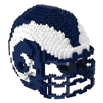Los Angeles Rams BRXLZ NFL 3D Helmet Kit