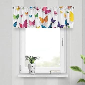 Meesoz Valance-Papillons Volantti Perhoset