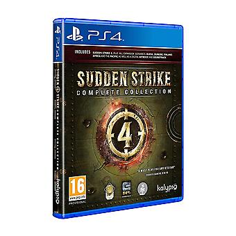 Sudden Strike 4 komplet kollektion PS4 spil