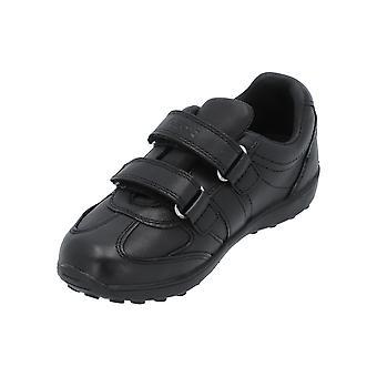 Geox J XITIZEN BOY B Kids Sneaker Black Turn Shoes Sport Running Shoes