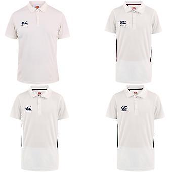 Canterbury Niños Niños Deportes Clásicos Entrenamiento de Manga Corta Cricket Camiseta Top