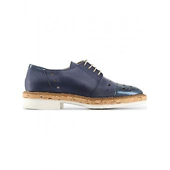 Made in Italia - Shoes - Lace-up shoes - LETIZIA_BLU - Women - Blue - 40