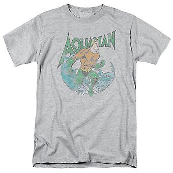 Aquaman Pose Grey Men's T-Shirt