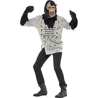"Mutant Monkey Costume, Chest 42""-44"", Leg Inseam 33"""