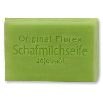 Florex sheep's milk soap - jojoba oil - mild soap with valuable jojoba oil nourishes and protects long-lasting 100 g