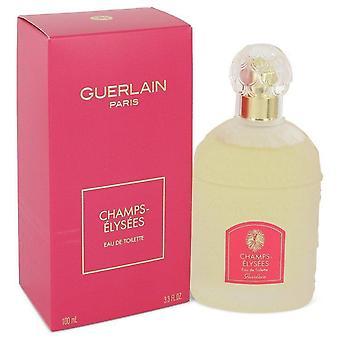 Champs elysees eau de toilette spray by guerlain 416534 100 ml