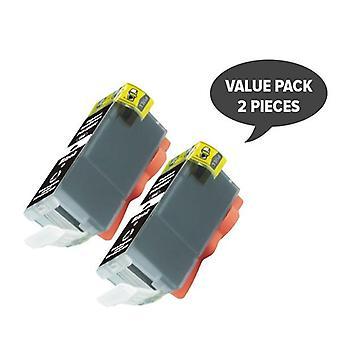 2 x PGI-525 Pigment Black Compatible Inkjet Cartridge
