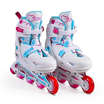 Byox Inliner Kids, Skates 5 in 1 Evolution Size L 38-41 ABEC-5, 608ZB
