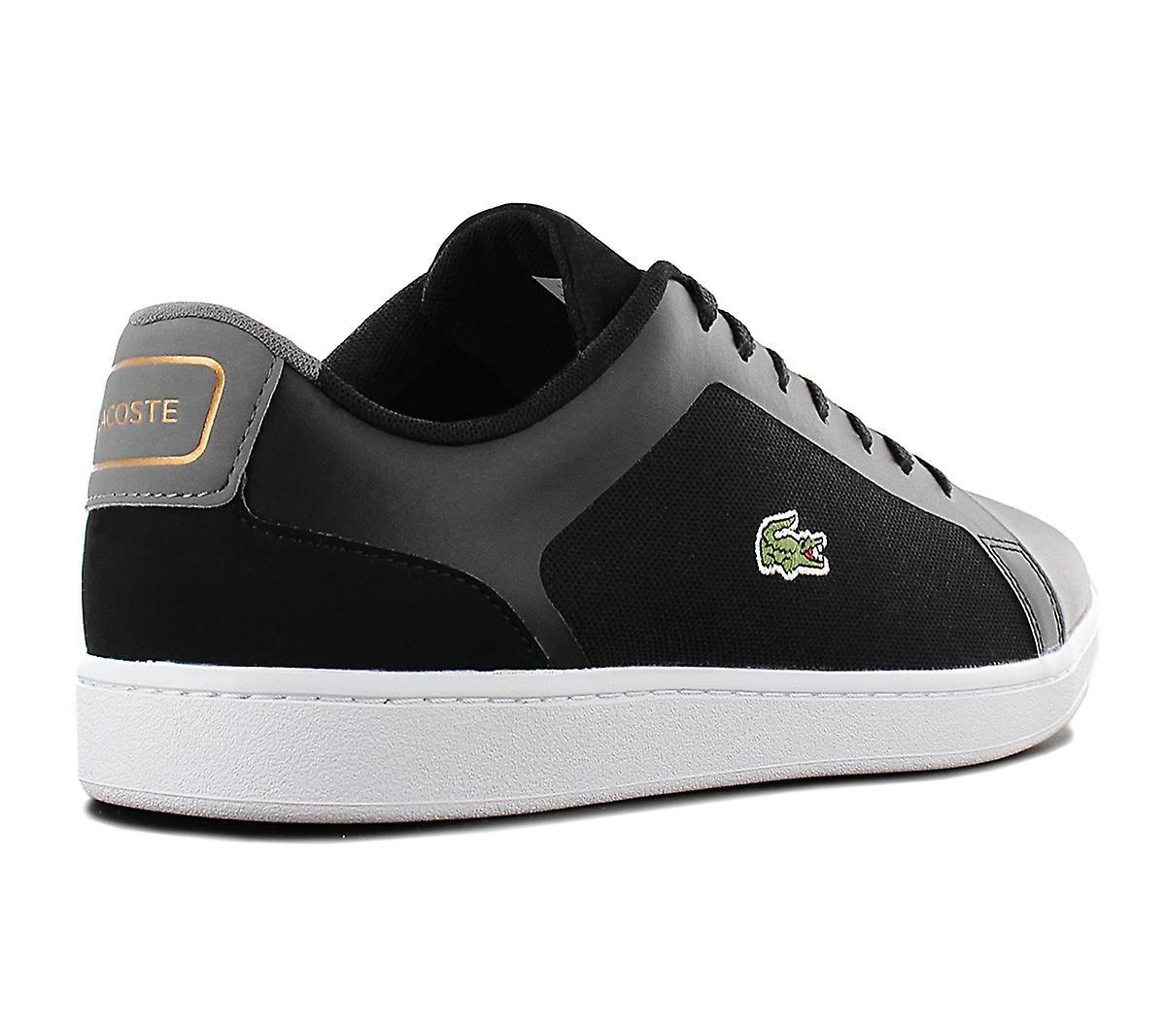 Lacoste Endliner 318 7-36spm0020237 Herren Schuhe Schwarz Sneakers Sportschuhe