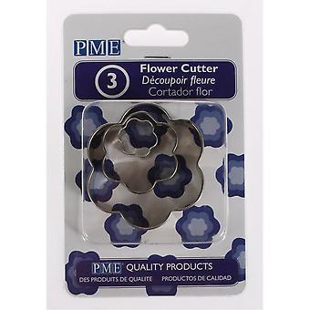 PME Flower Cutters 3 Pezzo