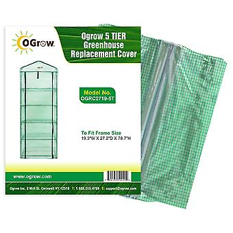 5 Tier Kleine Mini Greenhouse Vervanging Plastic PE Cover Garden Grow House Bag