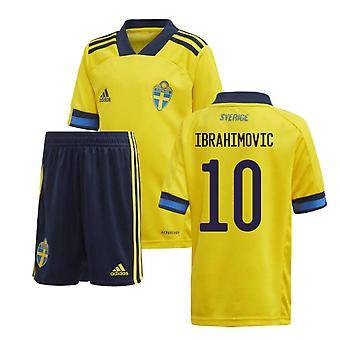 2020-2021 Schweden Home Adidas Mini Kit (IBRAHIMOVIC 10)
