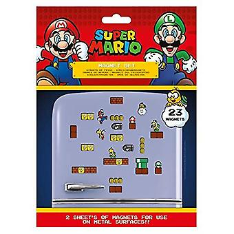 Nintendo Super Mario Magnet Set Merchandise