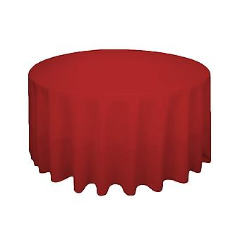 "90"" Round Tablecloth Spun Polyester"