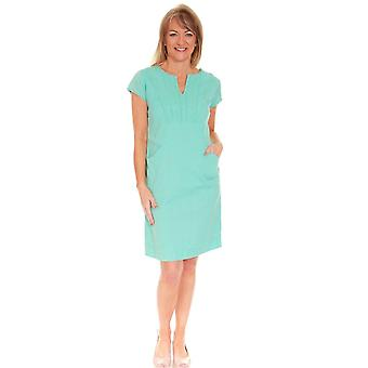 POMODORO Pomodoro Turquoise Dress 72003
