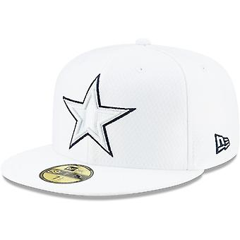 New Era 59Fifty Cap - PLATINUM Sideline NFL Dallas Cowboys