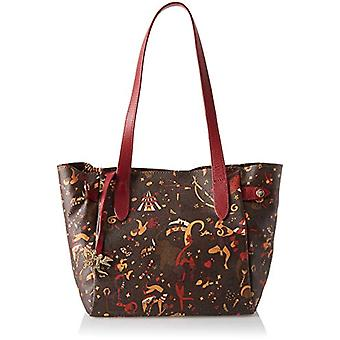 piero gui gui Tote Bag Woman Brown Hand Bag (T.Moro) 27x24x16 cm (W x H x L)