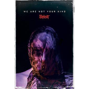Slipknot, Affiche Maxi - Nous ne sommes pas votre genre