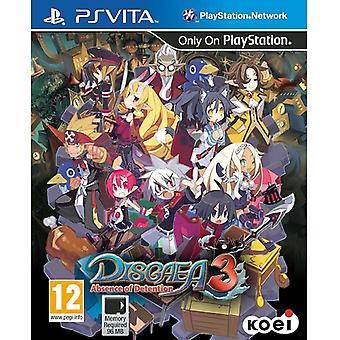 Disgaea 3 a feltartóztatás hiánya PS vita játék