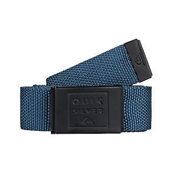 Quiksilver Principle III Webbing Belt in Majolica Blue
