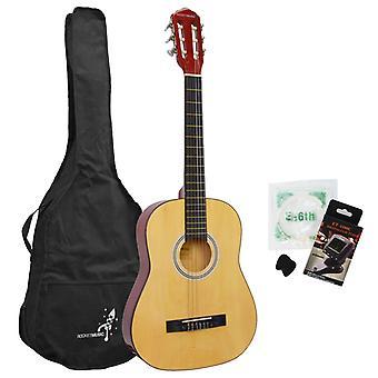 Fusée de 3/4 taille guitare classique Premium Pack
