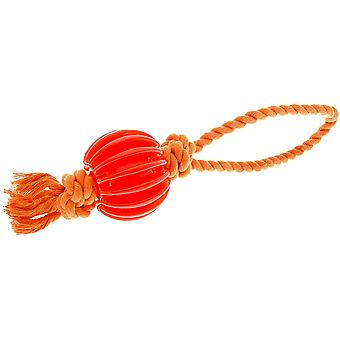 Ferribiella Rubber Rope+Ball (Dogs , Toys & Sport , Balls)