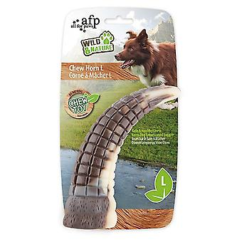 AFP Toy Horns Wild & Nature Goat Horn M (Dogs , Toys & Sport , Chew Toys)