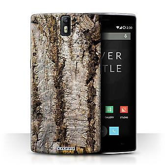 STUFF4 Case/Cover for OnePlus One/Aged/Tree Bark