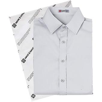 H2H Mens Casual Button Down Short Sleeve Shirts Basic Designed White US XL/As...