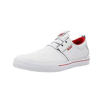 SUPRA Mens 08325-026-M-12 Canvas Low Top Lace Up Fashion Sneakers