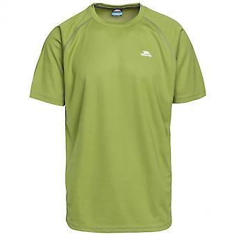 Trespass Mens Debase Round Neck Camisa de secagem rápida