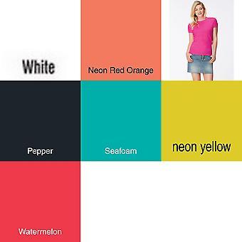 Comfort Colours Womens/Ladies Plain Short Sleeve T-Shirt