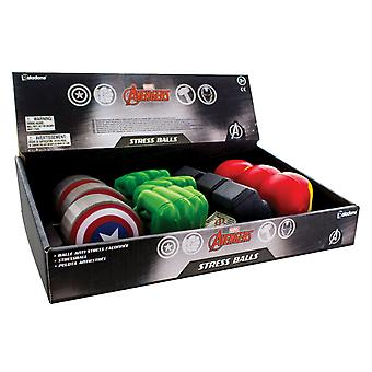 Marvel Avengers Stressballs CDU Display of 12pcs