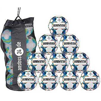 10 x DERBYSTAR Youth Ball - STRATOS LIGHT inkl.