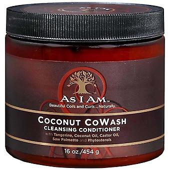 As i am coconut cowash cleansing conditioner, 16 oz