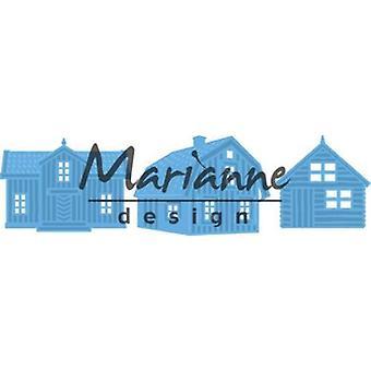 Marianne Design Creatables Cutting Dies - Scandinavian Houses LR0555