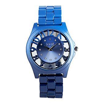 Eton Round See through surround Case, Blue Ombre Fashion Watch 3265J-BL