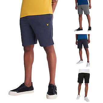 Lyle og Scott Herre Fleece Letvægts justerbare Comfort Shorts