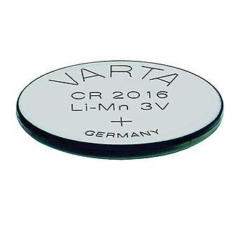 Lítium gombíková batéria VARTA CR-2016 3 V Silver