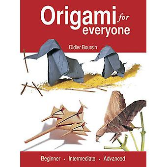Origami for Everyone - Beginner - Intermediate - Advanced by Didier Bo