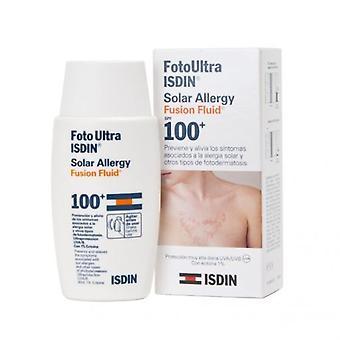 ISDIN Fotoultra Solar allergia fuusio neste 100 + 50 ml